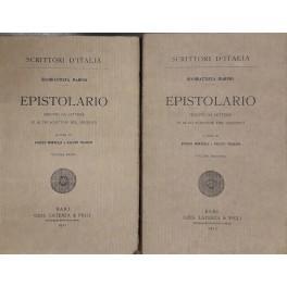 c2a8883dee316 Epistolario seguito da lettere di altri scrittori: Marino Giambattista  (1569-1625)