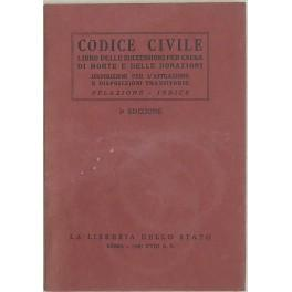 Codice civile. Disposizioni per l'attuazione del codice: Regno d'Italia