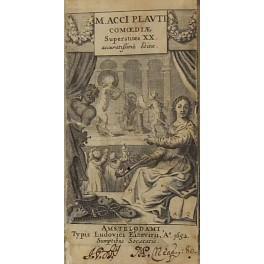 M. Acci Plauti comoediae superstites XX. Accuratissime: Plautus Titus Maccius