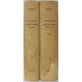 Sistema istituzionale del diritto privato italiano. Vol.: Barbero Domenico