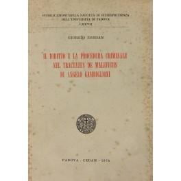 Il diritto e la procedura criminale nel: Zordan Giorgio