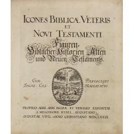Melchiore Kysel Augustano Icones biblicae veteris et: Kusel Malchior