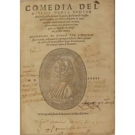 Comedia del divino poeta Danthe Alighieri con: Alighieri Dante (1265-1321)