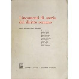 Lineamenti di storia del diritto romano. Sotto: AA.VV.