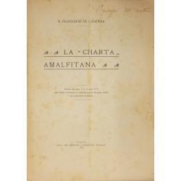 La charta amalfitana: Filangieri di Candida