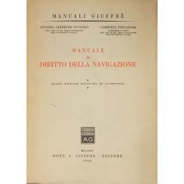 Manuale di diritto della navigazione: Lefebvre D'Ovidio Antonio