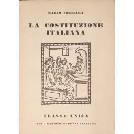 La Costituzione italiana: Ferrara Mario