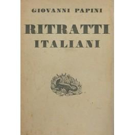 Ritratti italiani. (1904-1931): Papini Giovanni (1881-1956)