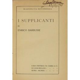 I supplicanti: Barbusse Henri