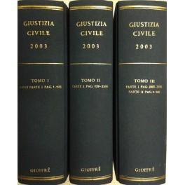 Giustizia Civile. Rivista mensile di giurisprudenza. Anno: AA.VV.