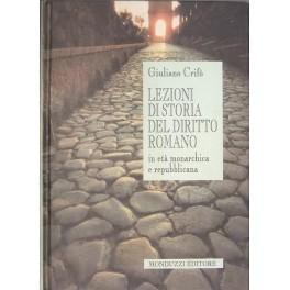 Lezioni di storia del diritto romano in: Crifo Giuliano
