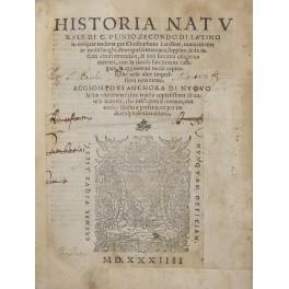 Historia naturale di C. Plinio Secondo di: Plinius Secundus Gaius