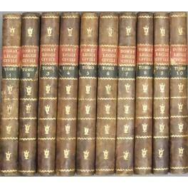Le leggi civili nel lor ordine naturale.: Domat Jean (1625-1696)