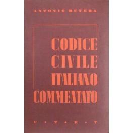 Il Codice civile italiano commentato secondo l'ordine: Butera Antonio