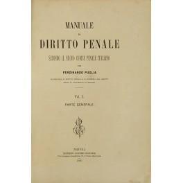 Manuale di diritto penale secondo il nuovo: Puglia Ferdinando