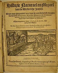 Historie naturael en morael van de Westersche: ACOSTA, José de.