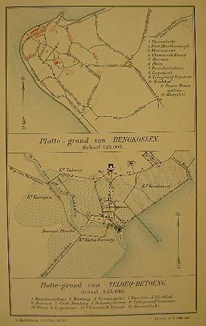 Antiques Antique Map-indonesia-sumatra-palembang-stemler-1875 Maps, Atlases & Globes
