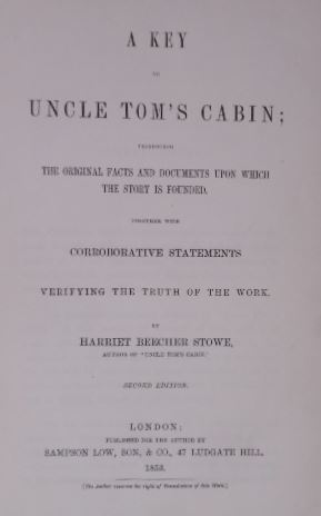 A key to Uncle Tom's cabin; presenting the original facts and documents upon which the story is f...