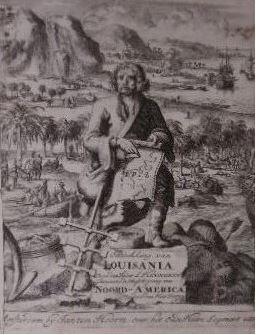 Beschryving van Louisania, nieuwelijks ontdekt ten Zuid-Westen: HENNEPIN, Louis.