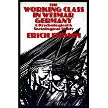The Working Class in Weimar Germany: A Psychological and Sociological Study