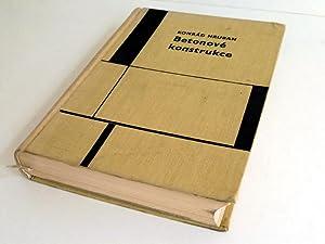 Betonove konstrukce (= Studie a prameny : Hruban, Konrad: