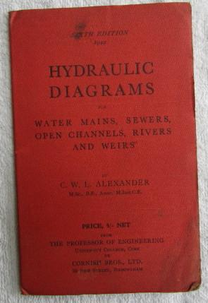 Hydraulic Diagrams for Water Mains, Sewers, Open Channels, Rivers and Weirs: Alexander C. W. L.