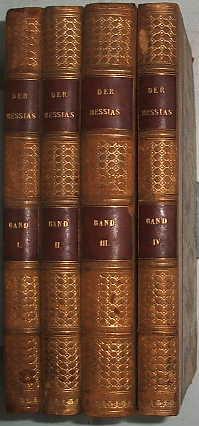 Der Messias (4 volumes): Klopstock F. G.