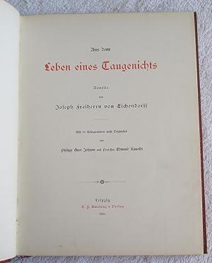Aus dem Leben eines Taugenichts - Novelle: Eichendorff, Joseph Freiherrn Von