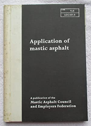 Application of Mastic Asphalt: Author Not Named