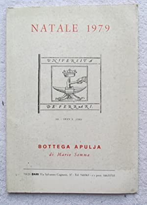 Bottega Apulja Di Mario Somma - 4 Catalogues, 1979 - 1985: Rare Book Catalogues