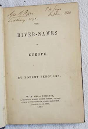 The River-Names of Europe: Ferguson Robert