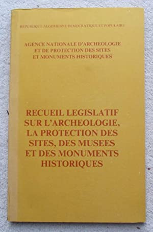 Agence Nationale d'Archeologie et De Protection Des: Republique Algerienne