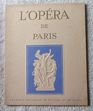 L'Opera De Paris Sommaire No. XVI: Paris Opera