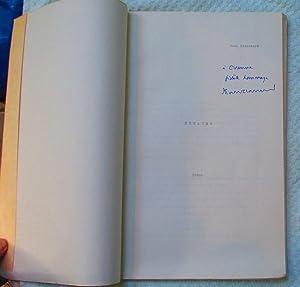 Espaces - Poeme: Blanchard Jean