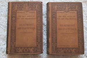 The Plays, Unexpurgated Edition, Edited By J. St. Loe Strachey - Two Volumes: Beaumont; Fletcher