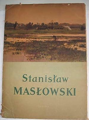 Stanislaw Maslowski - Akwarele - 12 Reprodukcji Barwnych: Maslowski Stanislaw and MacIej