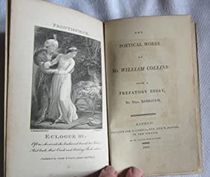 The Poetical Works. with a prefatory Essay by Mrs Barbauld: Collins William