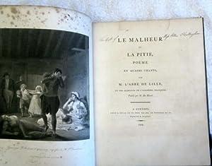 Le Malheur et La Pitie, Poeme En Quatre Chants: De Lille l'Abbe (Jacques)
