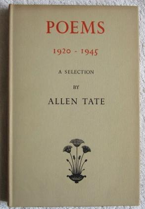 Poems 1920-1945 - A Selection: Tate Allen