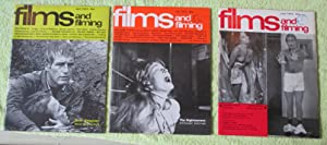 Films and Filming 1972 - 11 Issues, Lacks August: Periodical