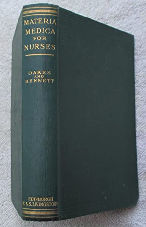 Materia Medica for Nurses: Oakes Lois and