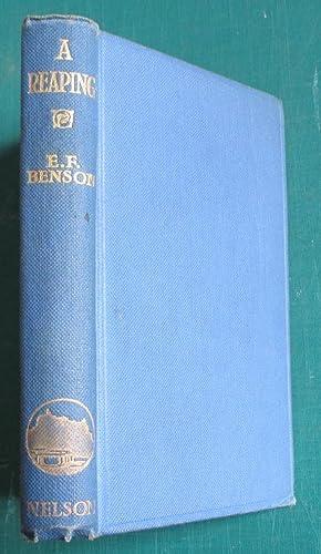 A Reaping: Benson E. F.