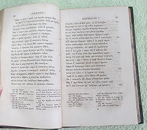 Omerou Odysseia Syn Tois Scholiois, Batrachomyomachia, Ymnoi Epigrammata Leipsana - Tmema Proton: ...