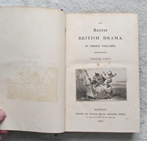 The Ancient British Drama in Three Volumes - Volume 1 Only: Various Authors
