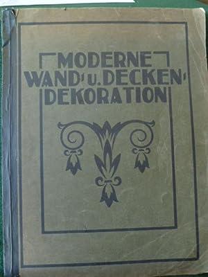 MODERNE WAND UND DECKEN:DEKORATION: LUTH, KARL