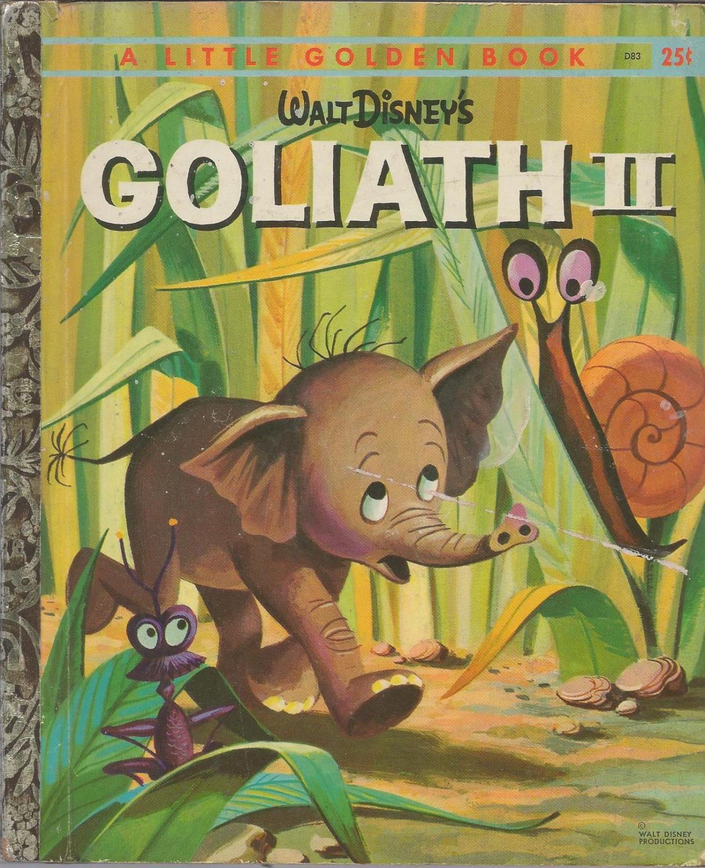 Walt Disney's Goliath II (Little Golden Book, #D83): Bill Peet