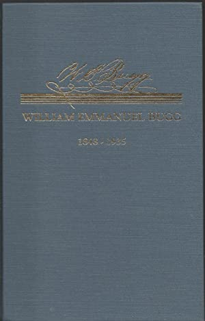 Journals of William Emmanuel Bugg 1848-1935: Mecklenburg: June Banks Evans