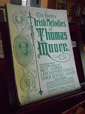 The Favorite Irish Melodies of Thomas Moore,