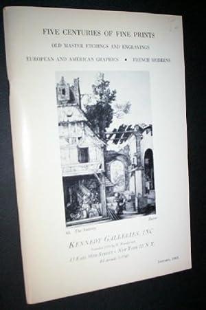 Five Centuries of Fine Prints : Old: Reese, Albert.
