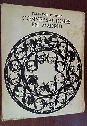 Conversaciones en Madrid.: Paniker, Salvador.